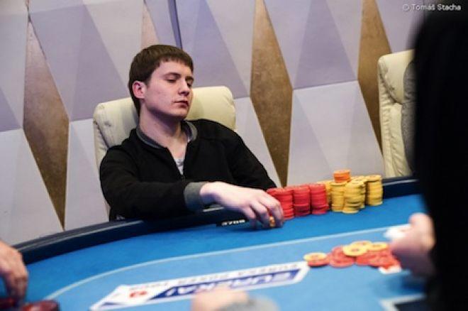 1A diena Eureka Poker Tour; Tarp lyderių - lietuvis 0001
