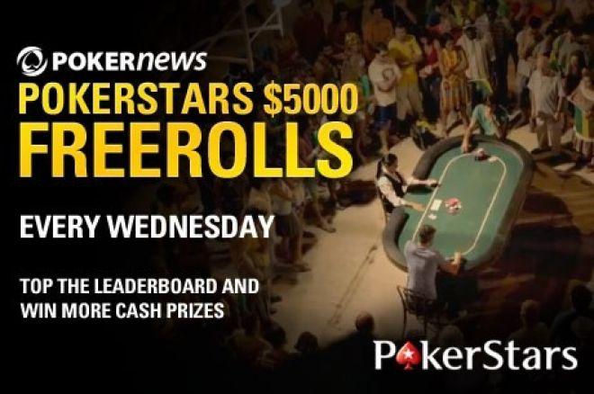 $67,500 PokerNews PokerStars Freeroll Series