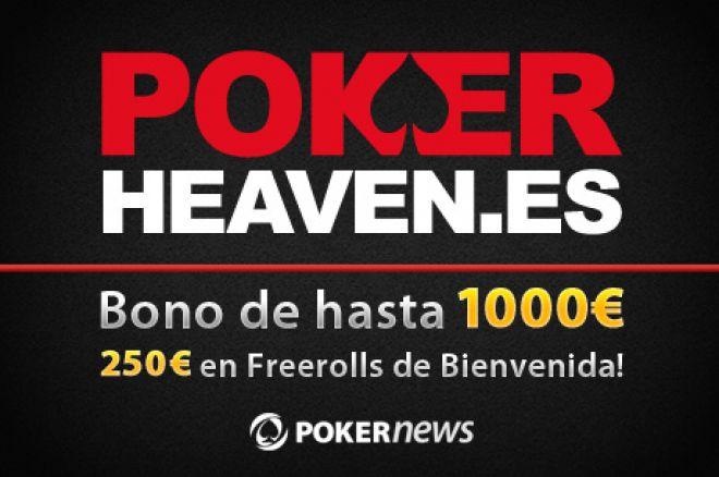 PokerHeaven.es freerolls de bienvenida, Mega Paquete para el CEP y freerolls garantizados 0001