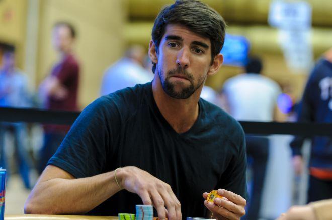 Michaels Phelps joga nas WSOP; Marchese lidera o primeiro dia do Event #2 0001