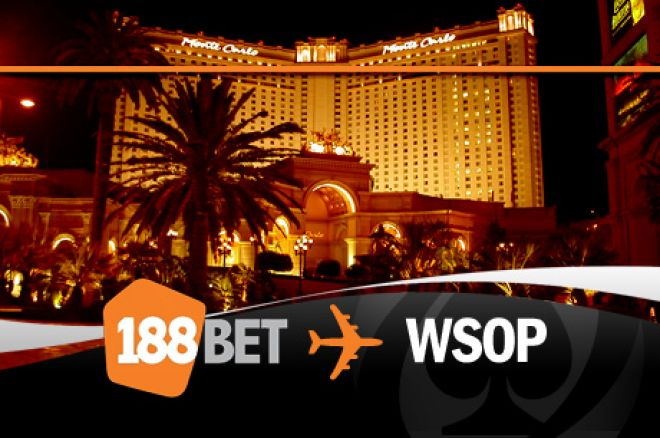 Siste mulighet til å vinne WSOP pakke hos 188BET 0001