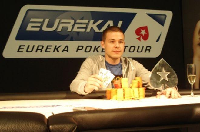 Achilles Bozso je Pobednik Eureka3 Dubrovnik Main Eventa, Boris Kuzmanović iz Zagreba... 0001