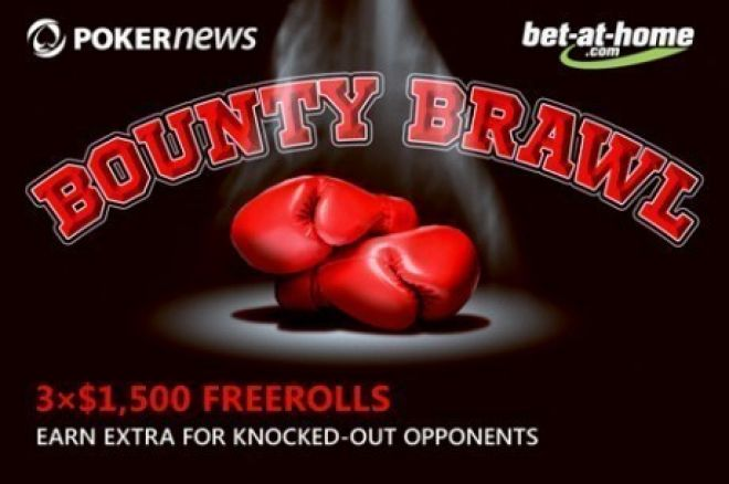 Become a Bounty Hunter in the bet-at-home.com Bounty Brawl Freerolls 0001
