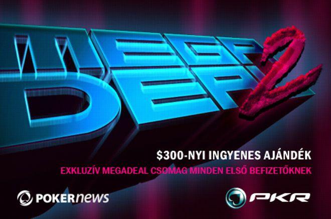 Fizess be a PokerNews alól, és máris tied a $300 értékű PKR MEGADEAL 2 csomag! 0001