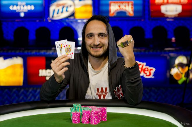 2013 World Series of Poker Day 14: Davidi Kitai and Taylor Paur Win Bracelets 0001