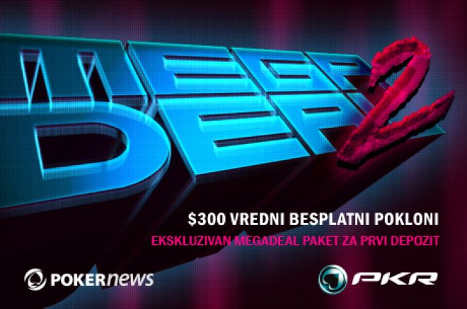 Otvorite PKR Nalog Preko PokerNewsa i Omogućite Sebi MegaDeal Paket Dobrodošlice 0001