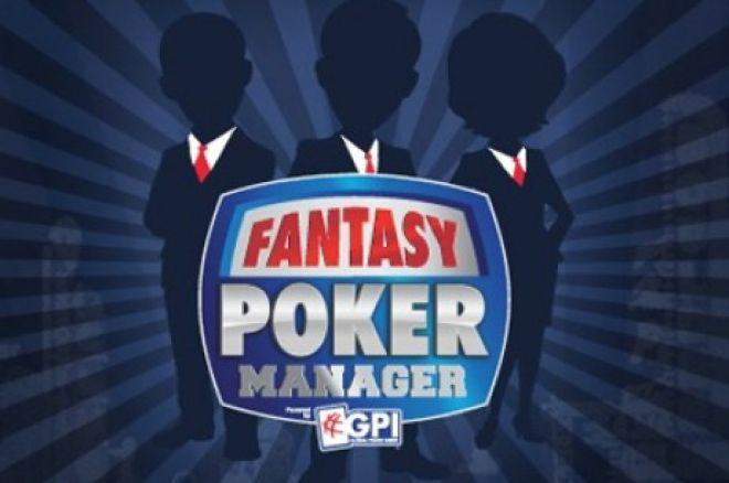 """""""Fantasy Poker"""" pokerio menedžeris 0001"""