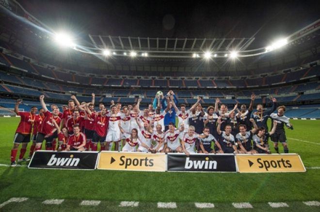 PokerNews y 40 aficionados cumplen un sueño en el Bernabéu 0001