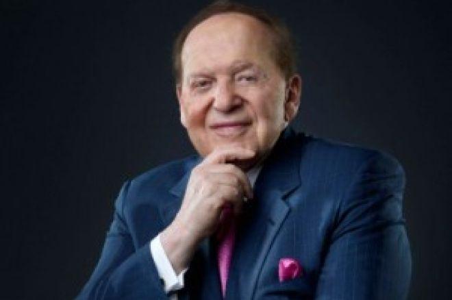 Sheldon Adelson  contra el juego online