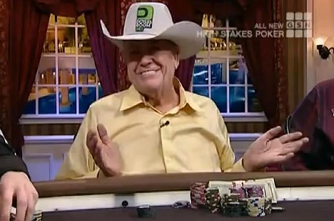 VIDEÓ: Doyle Brunson Phil Ivey pókerreklámját utánozza 0001