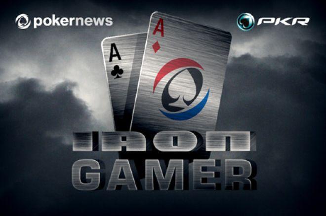 Prokaž své dovednosti v $9,000 PokerNews PKR Iron Gamer 0001
