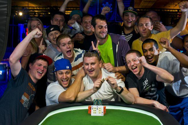 Окончился турнир #45: $1,500 Ante-Only No-Limit Hold'em 0001