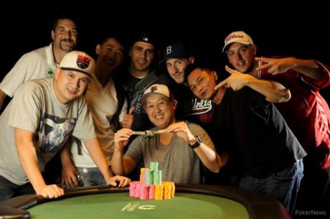 Окончен турнир #50: $2,500 10-Game Mix (Six Handed) 0001