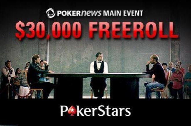 Ne Zaboravite Večeras PokerNews $30,000 Freeroll Turnir na PokerStarsu! 0001