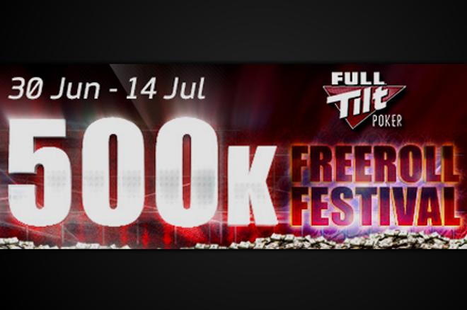 Full Tilt Poker $500k Freeroll Festival: július 14-ig fél millió dollárnyi nyeremény! 0001