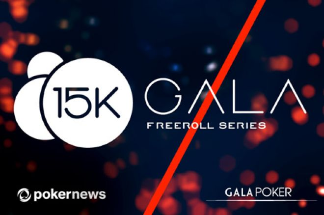 Ukažte své schopnosti a vyhrajte v naší 3x $5,000 Gala Poker Freeroll Series 0001