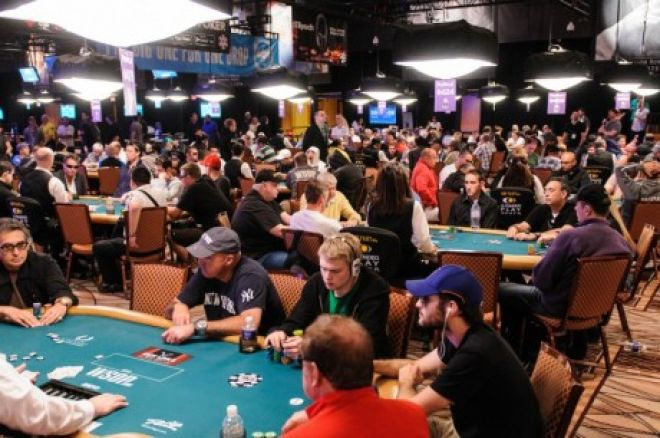WSOP Main Event: Tafelindeling Dag 2C