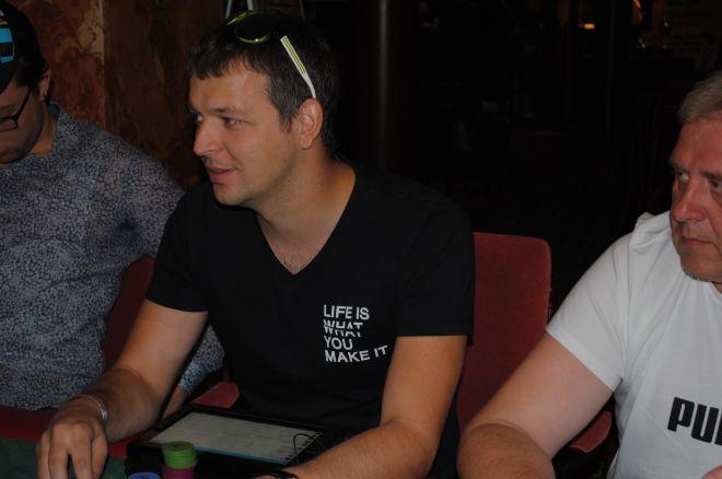 Justas Vaičiulionis užtikrintai pasiekė WSOP 3-ąją dieną! 0001