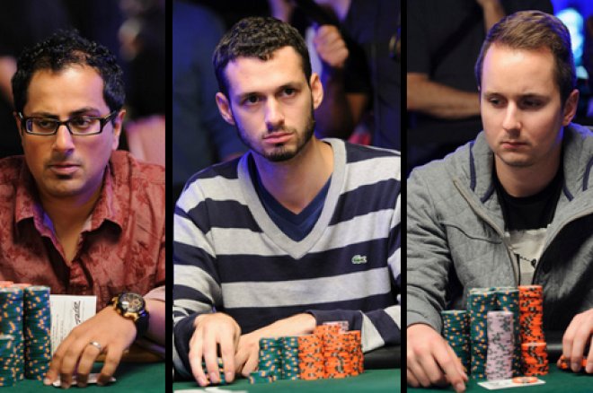 Jason Mann, Marc McLaughlin, Alexander Livingston, Canadians WSOP main event
