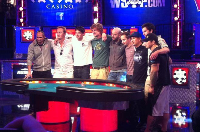 WSOP pagrindinio turnyro finaliniame stale - net penki amerikiečiai 0001