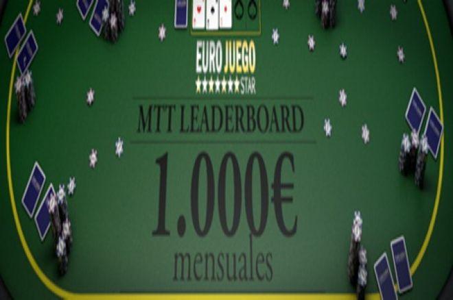 No te puedes perder los MTT LEADERBOARD de Eurojuegostar.es 0001