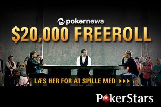 PokerNews $20k Freerolls