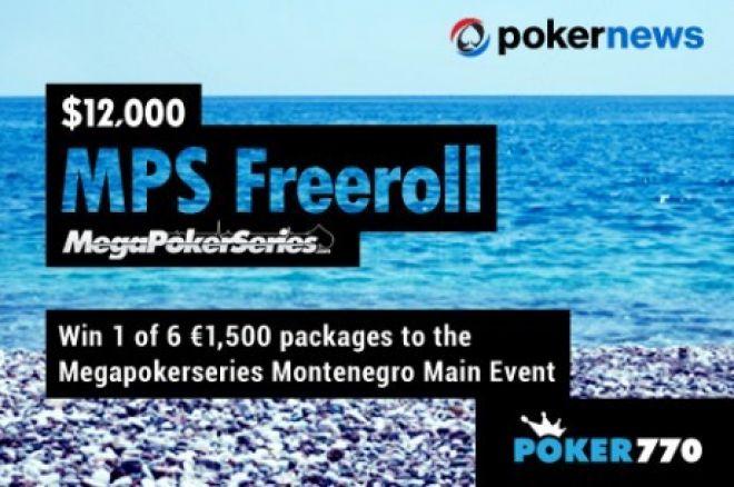 Κερδίστε δωρεάν μία θέση για το €1,500 Mega Poker Series του... 0001