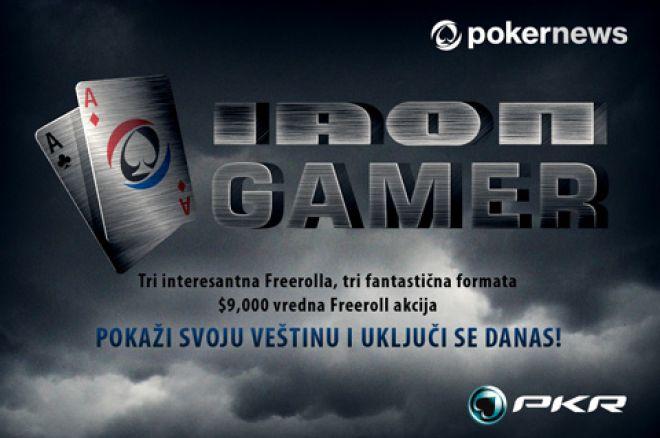 Igrajte Iron Gamer Promociju na PKR 0001