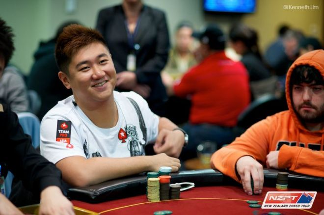 2013 PokerStars.net ANZPT Queenstown Snowfest: Bryan Huang Takes Lead Into Day 2 0001