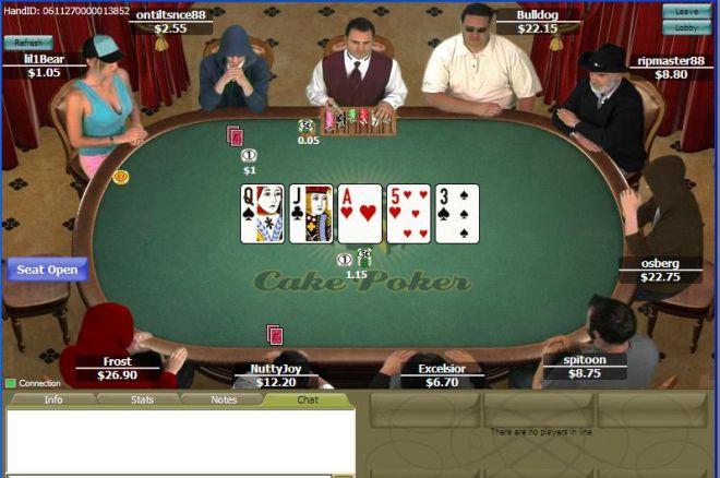 Сеть Cake Poker стала называться Win Cake 0001