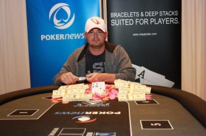 Ендрю ВанБлер здобув перемогу у мейн-івенті  PokerNews Mid-States Poker Tour в казино Meskwaki 0001