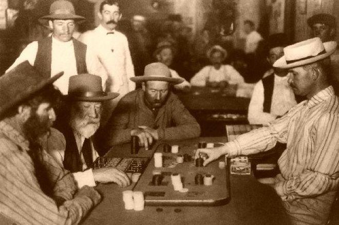Jeden z najstarszych filmów o pokerze 0001