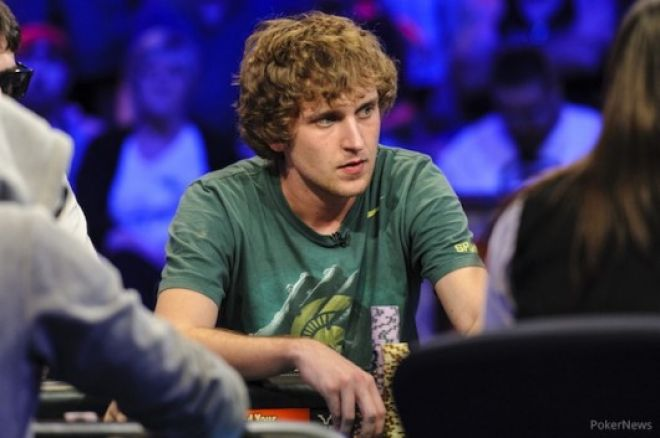 2013 WSOP 메인 이벤트 파이널 테이블: Ryan Riess 0001