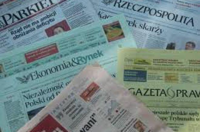 Kolejny artykuł w prasie na temat pokera w Polsce 0001
