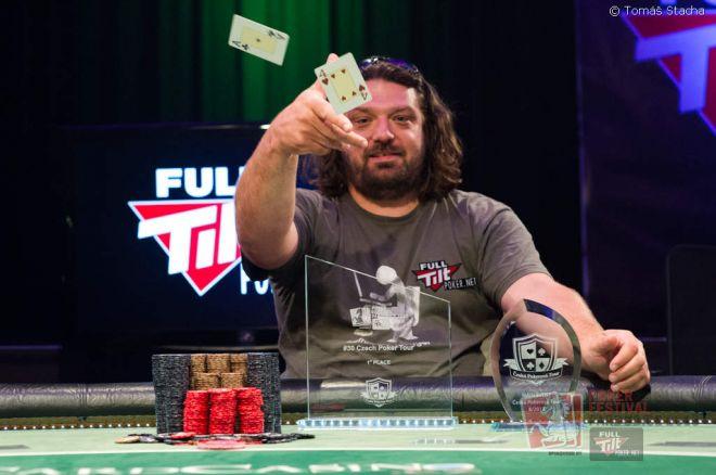 Vlastimil Kuděla zvítězil v Main Eventu pardubické České Pokerové Tour 0001
