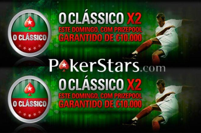 Clássico X2 - €10,000 de Prize Pool Garantido na PokerStars 0001