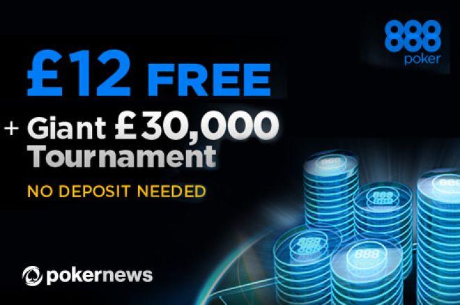 ¡Juega en Dos Freerolls de 30.000£ Cada Semana en 888poker! 0001