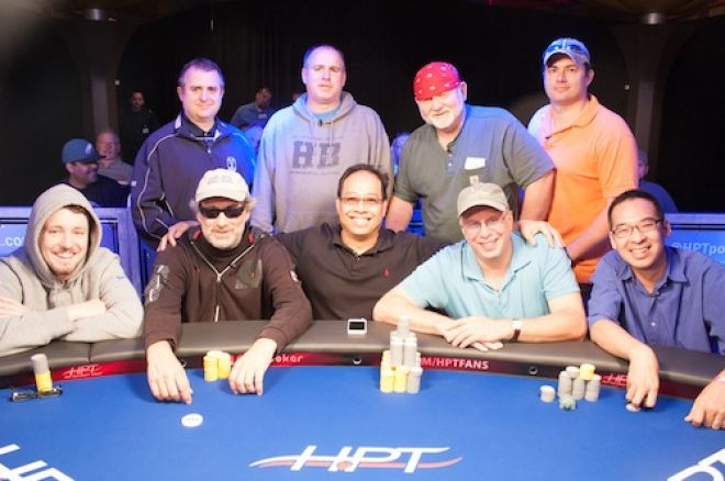 The HPT Majestic Star Casino finalists