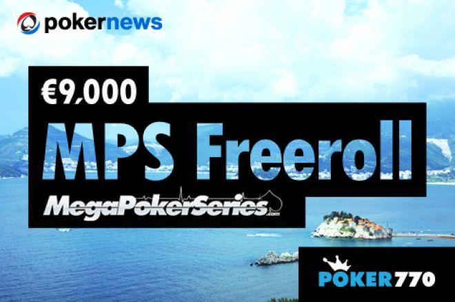 Obezbedite Sebi Mesto na MPS Seriji u Crnoj Gori Preko Freerolla na Poker770 0001