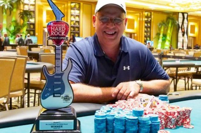 Рэй Пиччин выиграл турнир серии Seminole Hard Rock Poker Open с... 0001