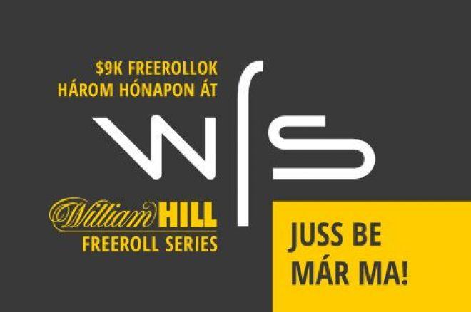Ne hagyd ki a PokerNews exkluzív $9.000-os William Hill Freeroll Sorozatát 0001