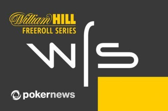 Žaisk ir laimėk dalį iš $9,000 William Hill nemokamų turnyrų serijoje 0001