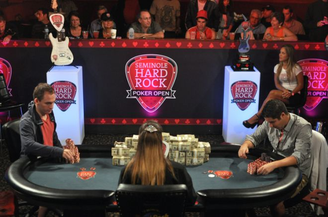 Seminole Hard Rock Poker Open: Hinkle and Bonomo Battling Heads Up 0001
