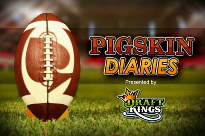 Pigskin Diaries Presented by DraftKings Week 1: The National Football League is Back 0001