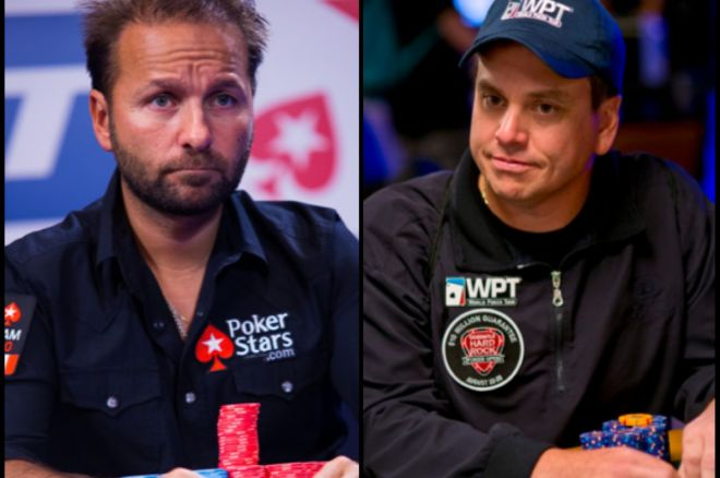 Daniel Negreanu and Matt Savage