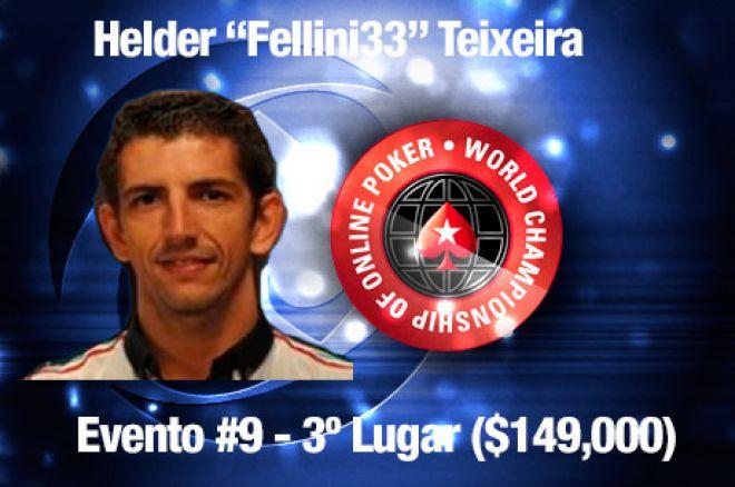 "WCOOP 2013 - Dia 4: Helder ""Fellini33"" Teixeira Foi 3º no Evento #9 ($149,000) 0001"