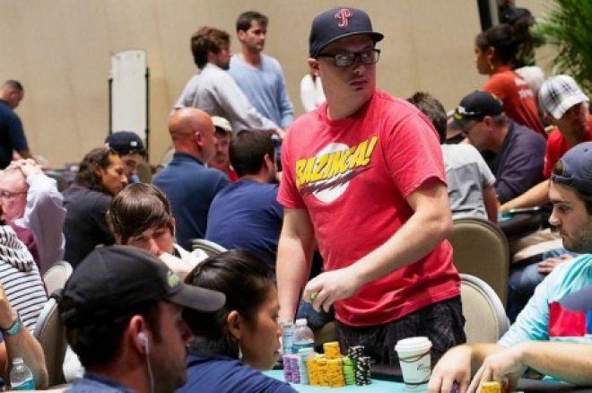 День 1В турнира World Poker Tour Borata Poker Open: Пол Вольп вышел в лидеры 0001