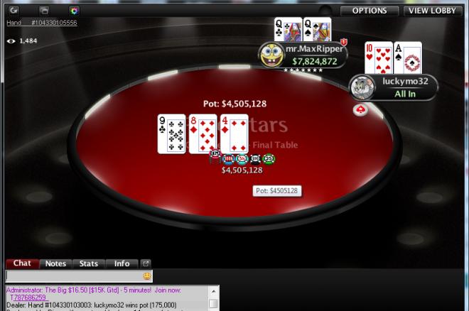"""Airijos lietuvis """"luckymo32"""" WCOOP-30 išsikovojo 230,000 dolerių! 0001"""