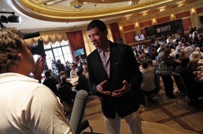 Президент World Poker Tour Адам Плиска обговорює Alpha8 0001