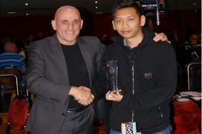 Tan Le seen here with Simon Trumper